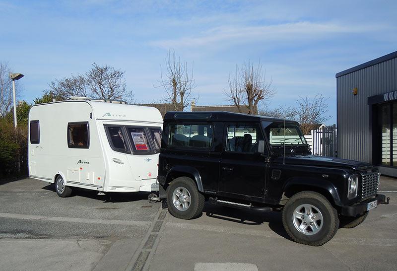 Our Caravan Mover