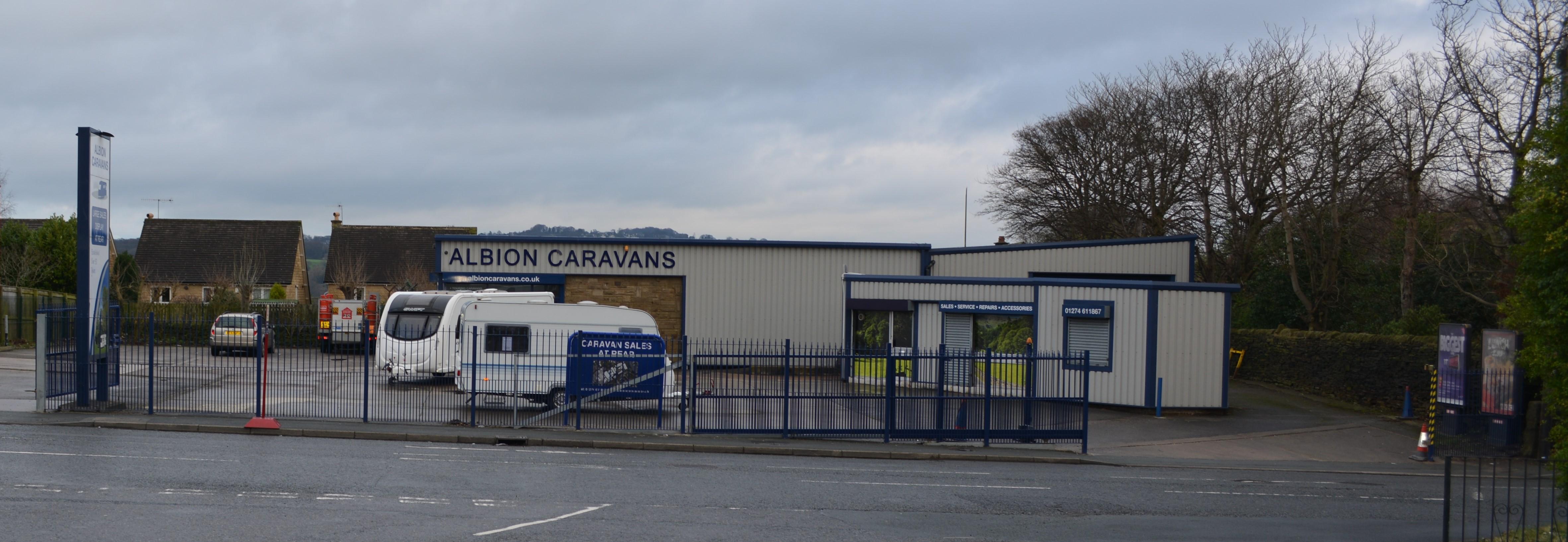 caravans in Yorkshire